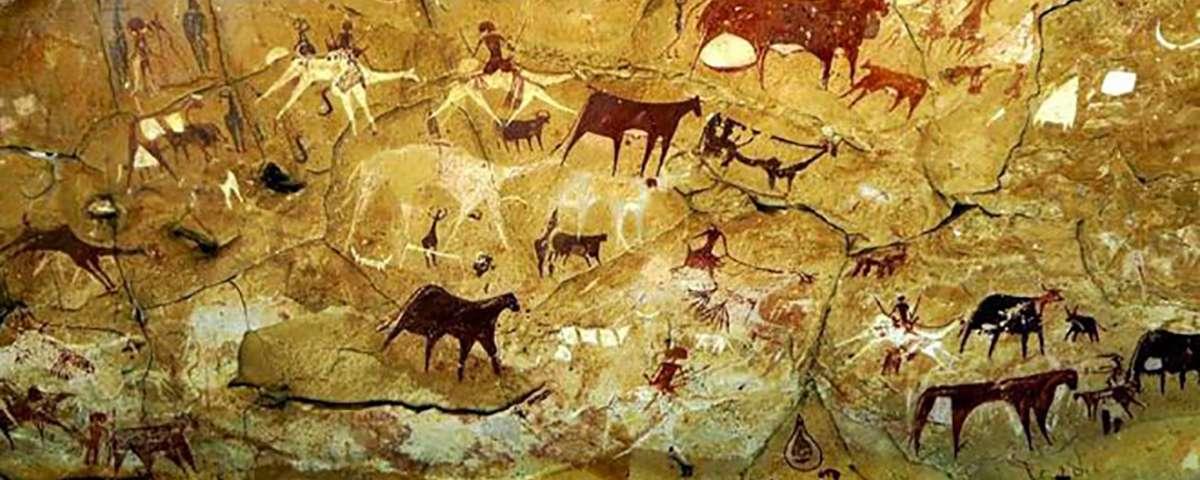cave david pittura rupestre