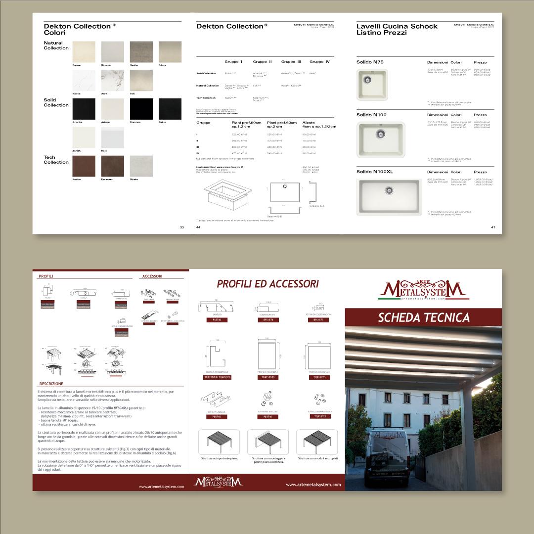 Grafiche Desirè Brochure e cataloghi