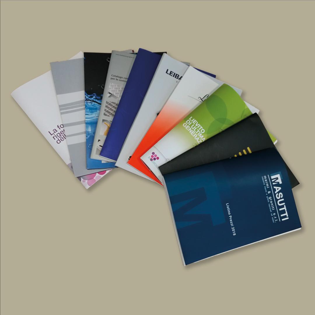 Grafiche Desirè cataloghi e Brochure